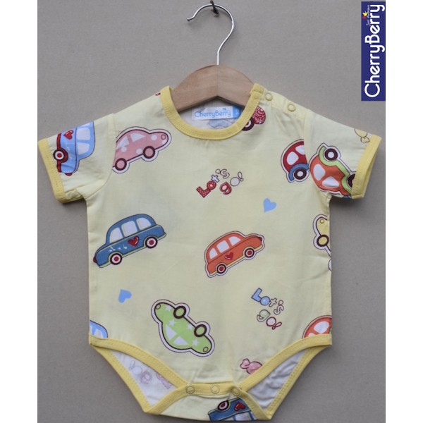 Cotton Rompers - Price for pack of 5 pcs