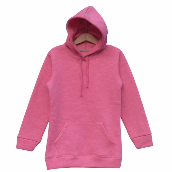 Girls Fleece Hoodie (HD1003) - Price pack of 4 pcs