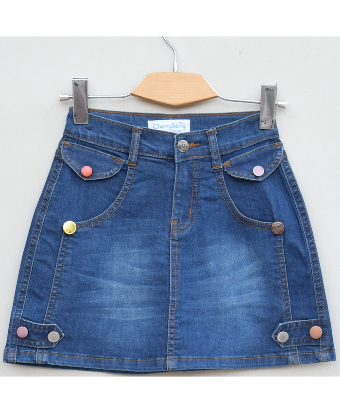 Pack 0f 4 pcs denim skirt