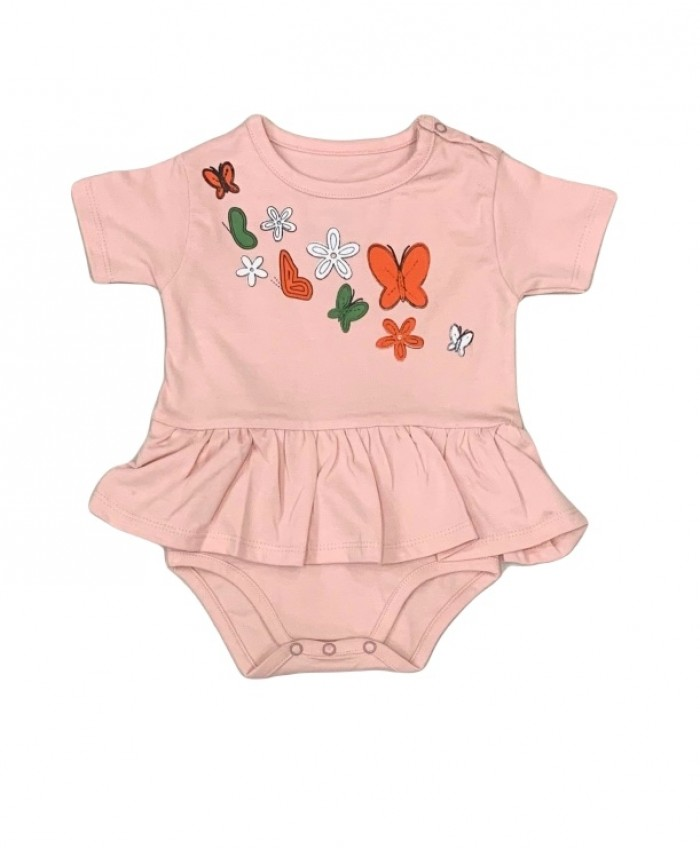 baby girl pack of 5 rompers