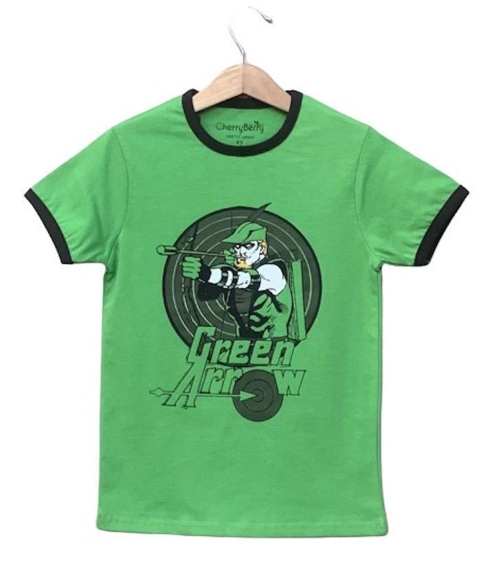 Pack of 6 pc Green arrow T-shirt