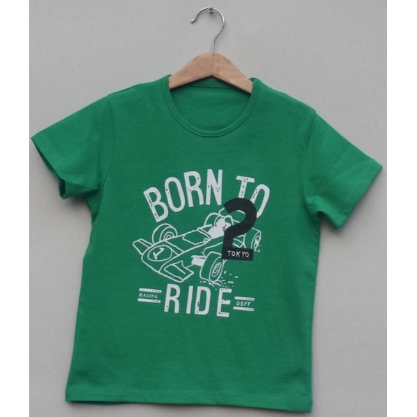 Boys Printed T-shirt -Price pack of 6 pcs (K-14)
