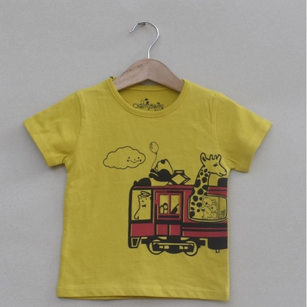 Boys Printed T-shirt -Price pack of 5 pcs