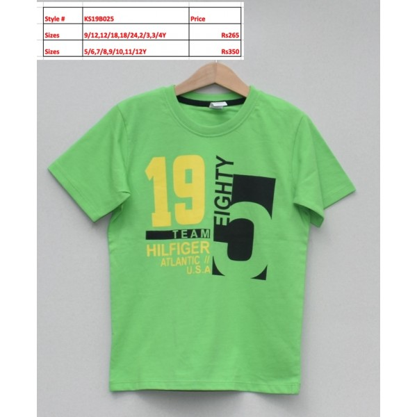 Boys T-shirt -Price pack of 4 pcs (KS19B025)