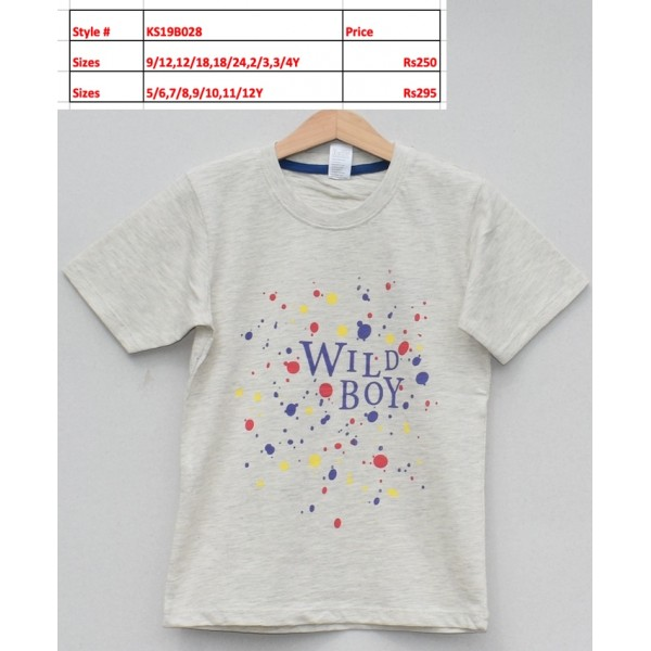 Boys T-shirt -Price pack of 5 pcs (KS19B028)
