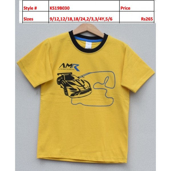 Boys T-shirt -Price pack of 6 pcs (KS19B030)