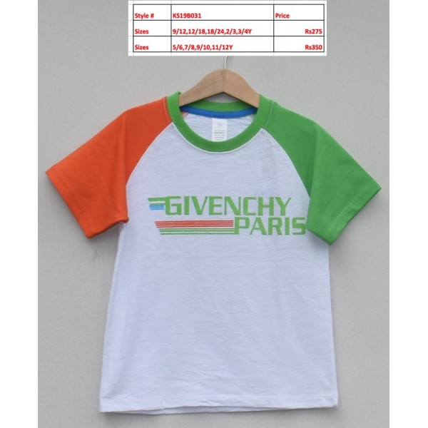 Boys T-shirt -Price pack of 5 pcs (KS19B031)