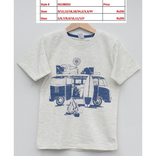 Boys T-shirt -Price pack of 5 pcs (KS19B033)