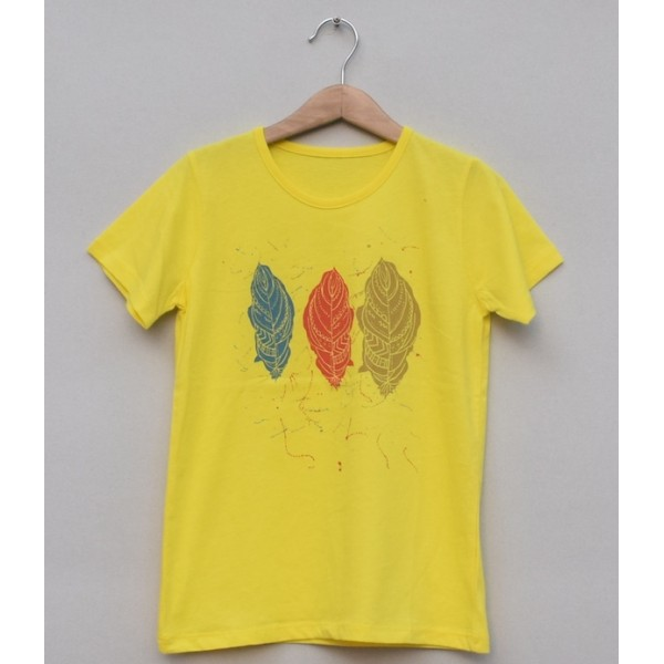 Girls Printed T-shirt -Price pack of 6 pcs