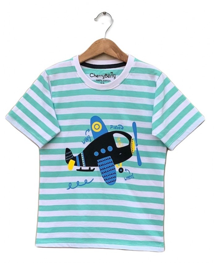 Printed children pack of 6 T-shirts