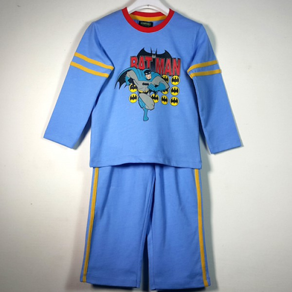 Boys Cotton printed T-shirt,Pajama set